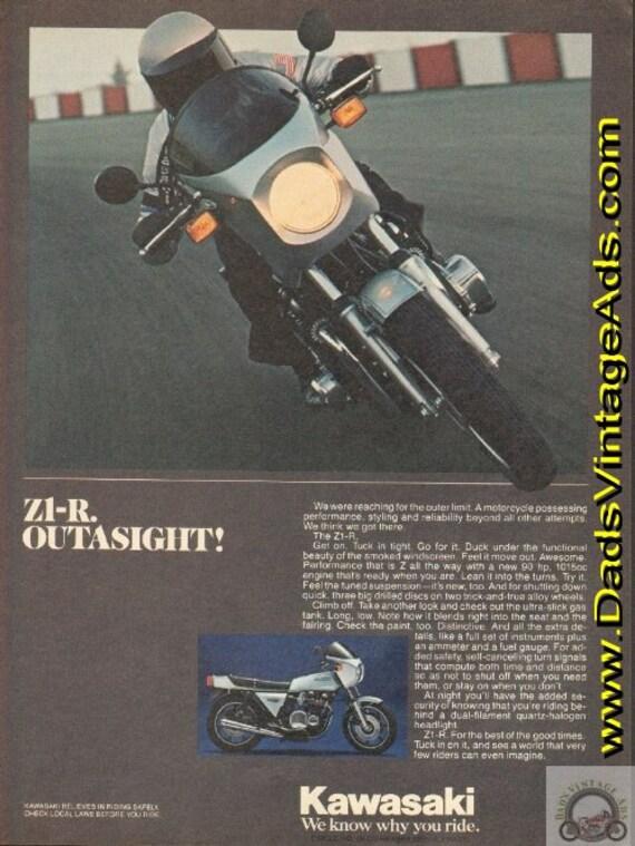 1978 Kawasaki Z1-R Motorcycle Ad #e78da02