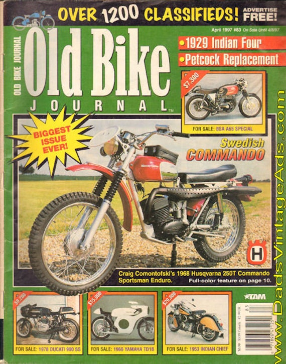 1997 April Old Bike Journal Motorcycle Magazine Back-Issue #9704obj