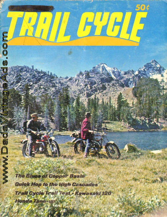 1969 October Trail Cycle Motorcycle Magazine Back-Issue #mb770