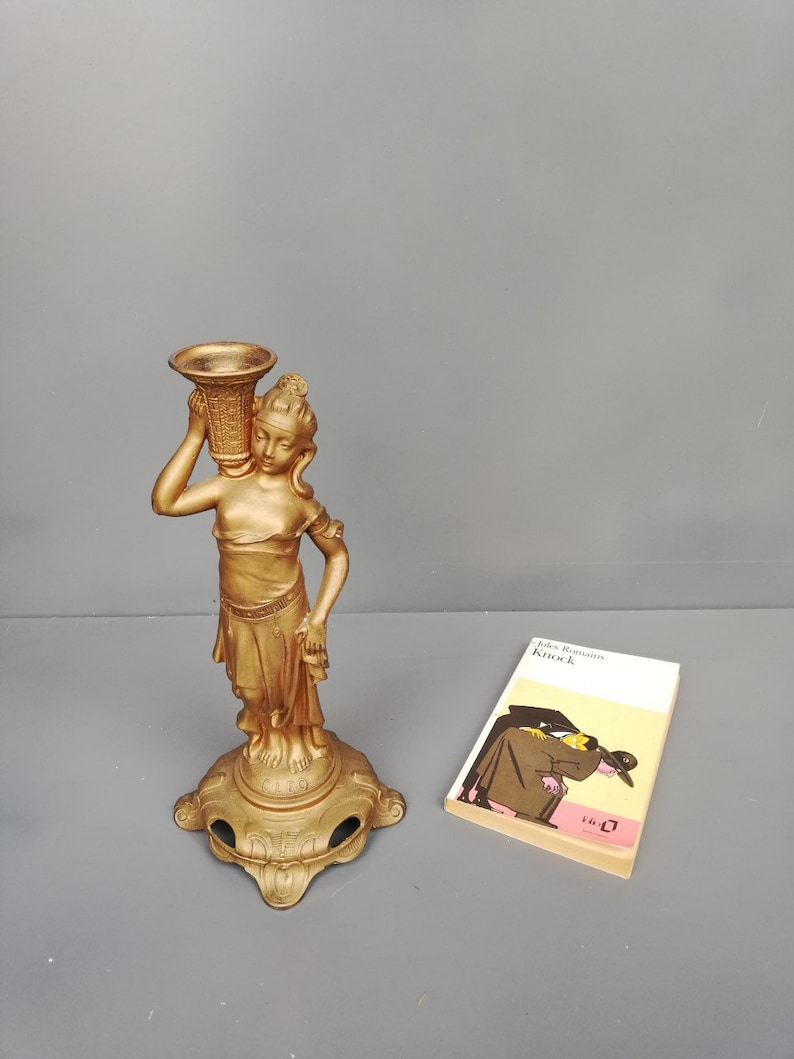 French liberty style candle holder