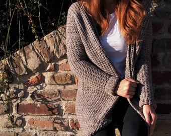 Knit cardigan Long cardigan Oversized cardigan Hand knit sweater