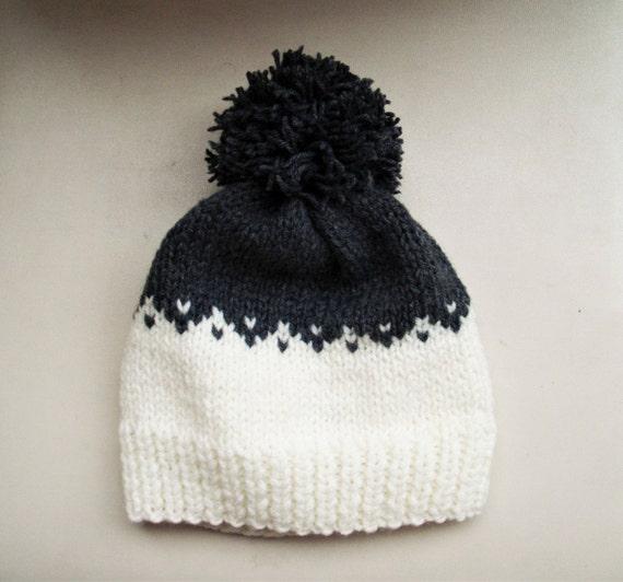 8b027190d5a Fair isle hat Knit beanie fair isle beanie beanie hat knit hat