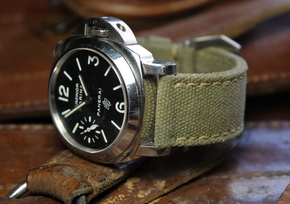 Army Green Camera Canvas Wrist Strap UK Seller