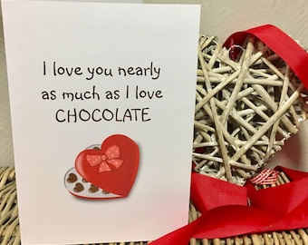 Items similar to funny valentine card valentines day card funny valentines card valentines day card funny card funny greetings card funny valentines card chocolate greetings cards m4hsunfo