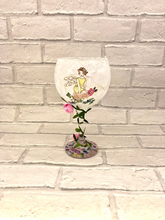fairy decor, fantasy gifts, flameless candle, pixie garden, pretty fairies, christening gift, girly gifts, fairy lovers, safe candles,