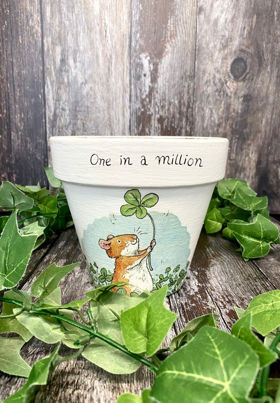 One In A Million Terracotta Plant Pot