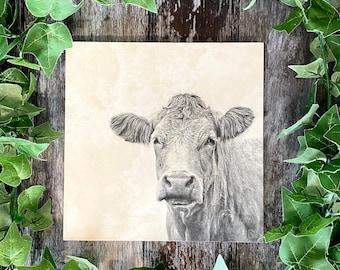 Rustic Cow Stone Worktop Saver