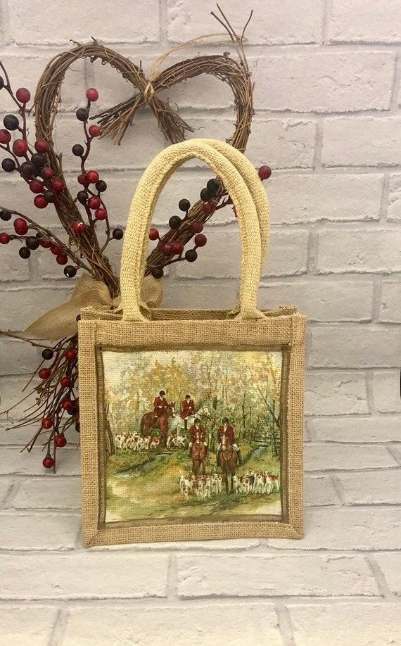 British Countryside Mini Shopping Bag
