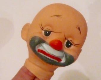 Poupée Vintage tête de clown poupée tête de Clown triste heureux partie par VintageReinvented