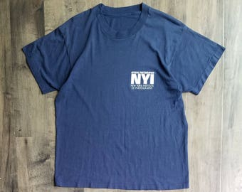Vintage New York Institute Of Photography Tee