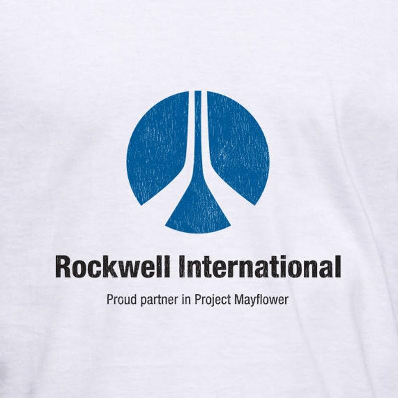 906e504e828 Rockwell International T-Shirt