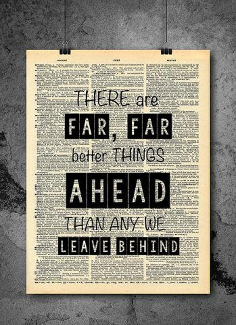 Better Things Ahead Quote Home Decor Inspirational Quotes Etsy