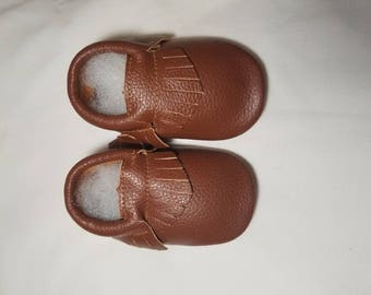 Baby moccs, genuine leather baby moccasins, baby shoes, leather baby shoes, leather moccs, baby boy shoes, baby boy moccs, leather baby mocc