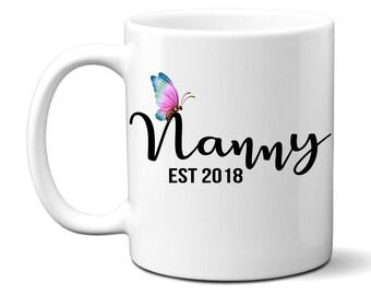 Nanny - Mugs - Coffee Mugs - Novelty Mugs - Printed Mugs - Custom Coffee Mugs - Novelty Mugs - Wholesale - Personalised - Funny Mugs Coffee.