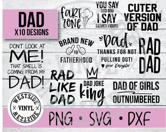 Rad Dad Svg Etsy