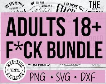 SWEAR BUNDLE SVG  - svg files funny svg files - svg - novelty svg - svg downloads - bundles svg - rude svg - bitch svg - svg bundle