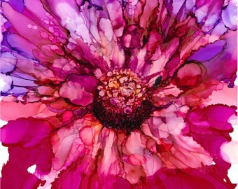 Flower in Fuschia - 33% off with purchase of 3 or more