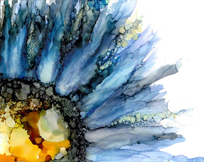 Flower in Blue 1 - 33% off with purchase of 3 or more