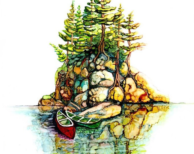 Northern Shore 14 - Two Canoes - 33% off with purchase of 3 or more