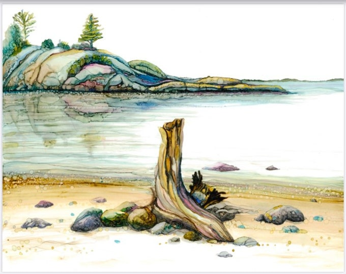 Northern Shore 1 - Bathtub Island - Lake Superior Provincial Park - 33% off with purchase of 3 or more