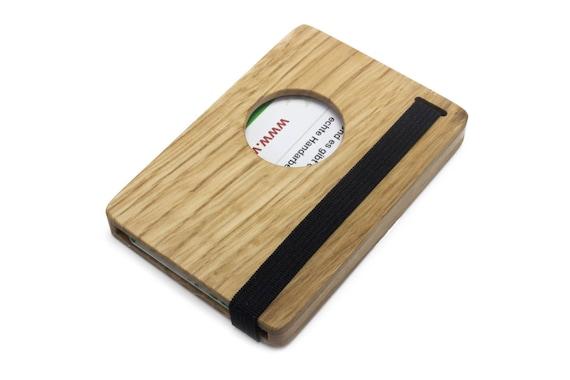 Hochwertiges Visitenkartenetui Aus Holz Visitenkartenhülle Mit Verschluss Minimalistisches Design Handmade In Germany