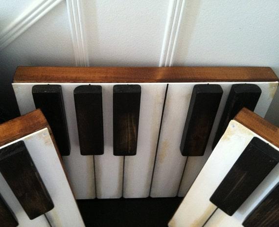 Vintage Inspired Piano Wall decor Music room decor Piano