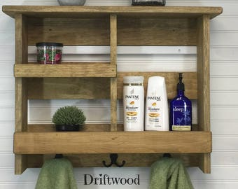 Delicieux Bathroom Organizer | Bathroom Storage Shelf | Bathroom Shelf | Bathroom  Cabinet | Bathroom Organization | Rustic Bathroom Decor