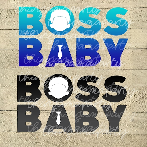 African Boy Names: African American Boss Baby Boy Logo Clipart Instant