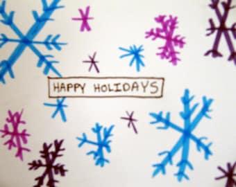 Happy Holidays Card (set of 5)