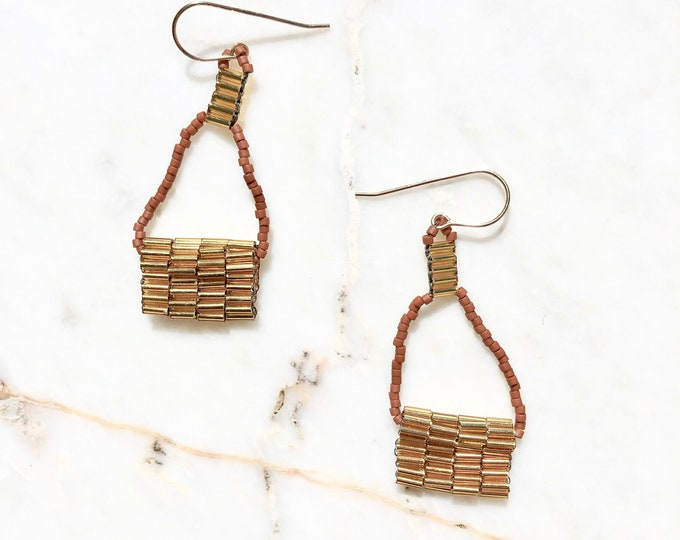 Cesta Terracotta Earrings