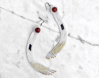 Tuithida Carnelian Earrings