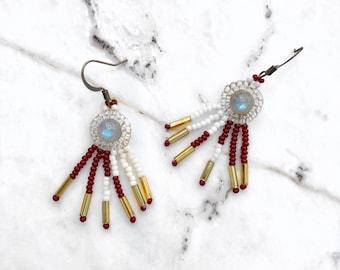 Emperor Labradorite Earrings
