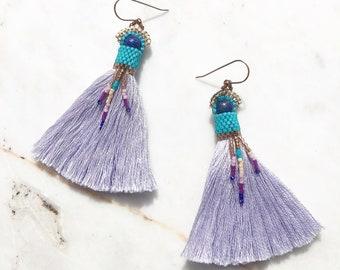 Nomad Lapis Lazuli Earrings