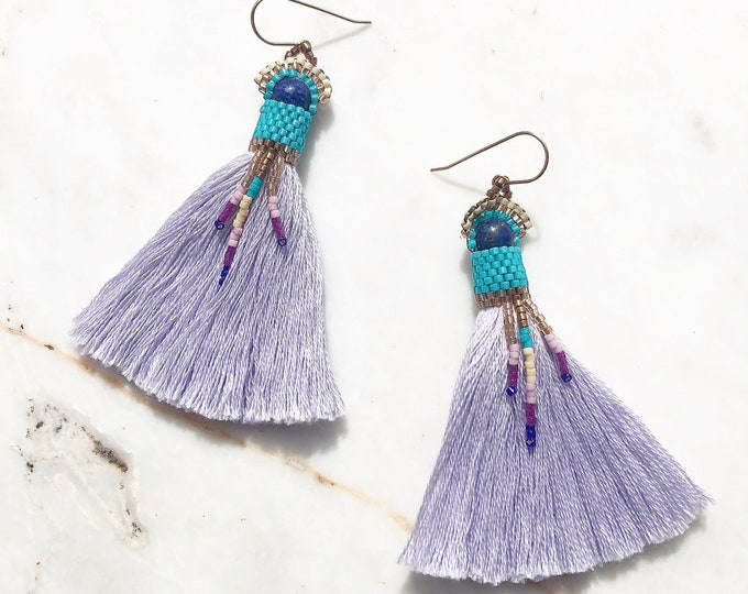 Nomad Lapis Lazuli Earrings