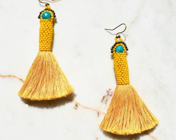 Whitefish Turquoise Earrings
