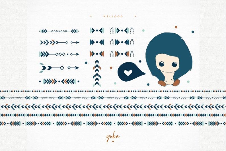 INSTANT DOWNLOAD Hellooo Yuka Studio Graphic Art  Artistic Designs  Commercial Use