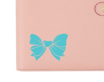 Girly Hairbow Vinyl Decal Sticker for Planner Car Mirror Laptop Cup Tumbler Book