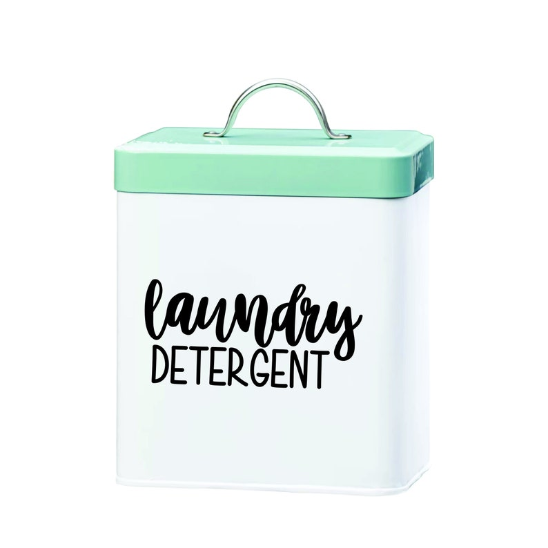 Laundry Detergent Vinyl Decal Sticker image 0
