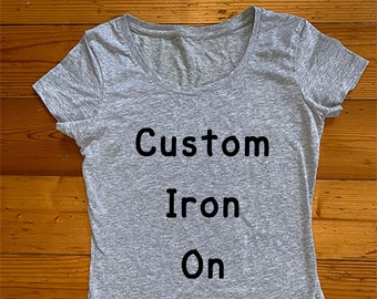 Iron on transfer | Etsy