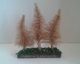 Trio of trees