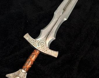 Elder Scrolls Skyrim Steel Sword Cosplay / Costume Prop Weapon (Cold-Cast Aluminum Resin Kit)