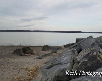Beach, Rocks Photograph