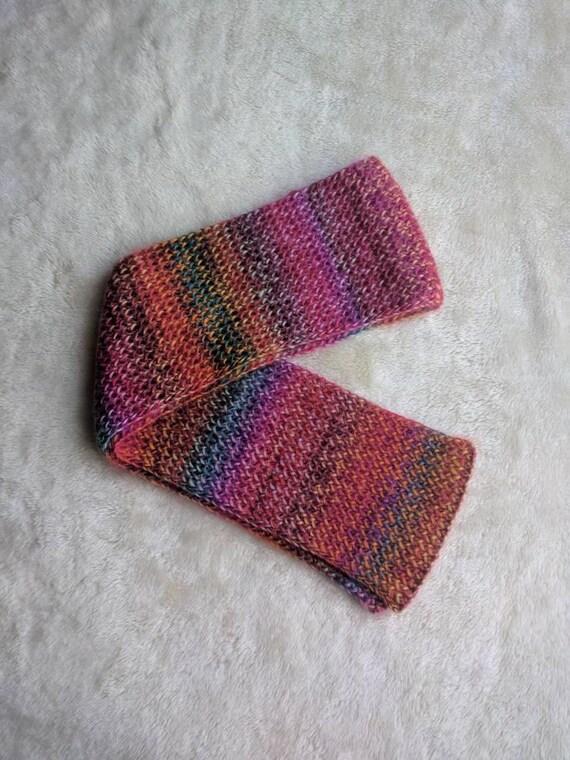 Écharpe en tricot pour enfant fait à la main écharpe en   Etsy 9728608aa64