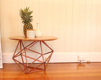 CONSTABLE Copper Himmeli Side Table