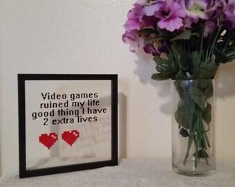Video Game Floating Frame
