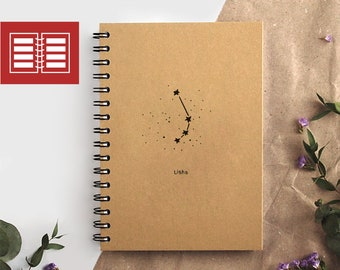 weekly planner 2018-2019 with the zodiac sign