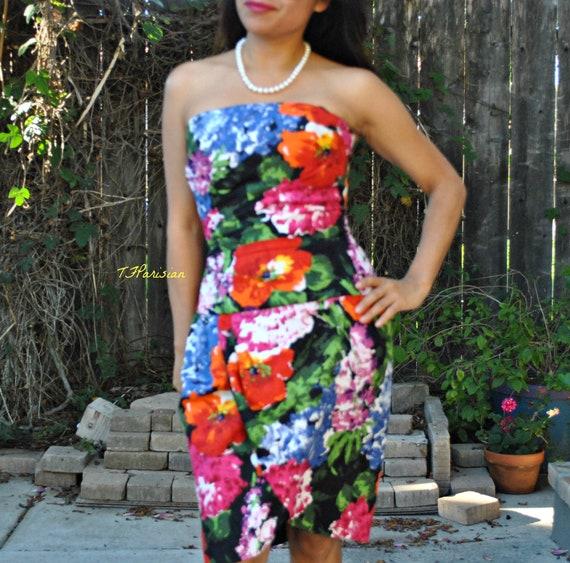 Julie Duroche After Five Womens Dress Halter Flora
