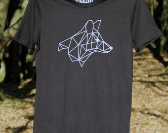 Geometric Fox T-shirt | Fox T-shirt | Illustrated T-shirt | Activewear | Gym Shirt