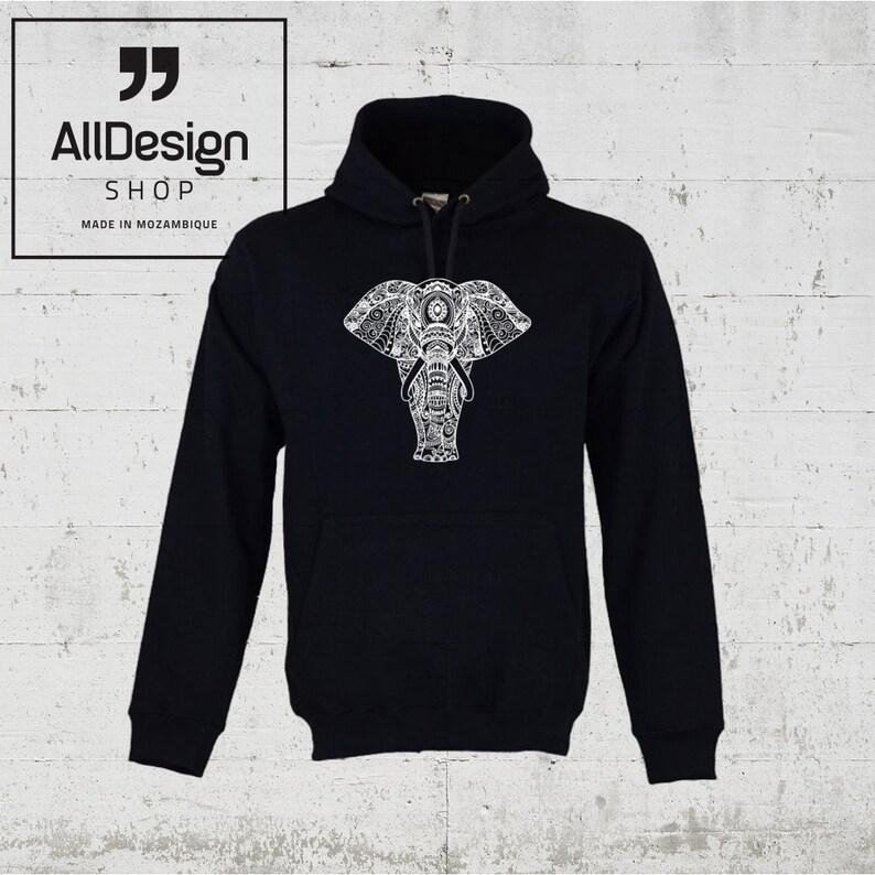 cf25ba6b0ba2e Elephant hoodie for men s wear   women s top clothing