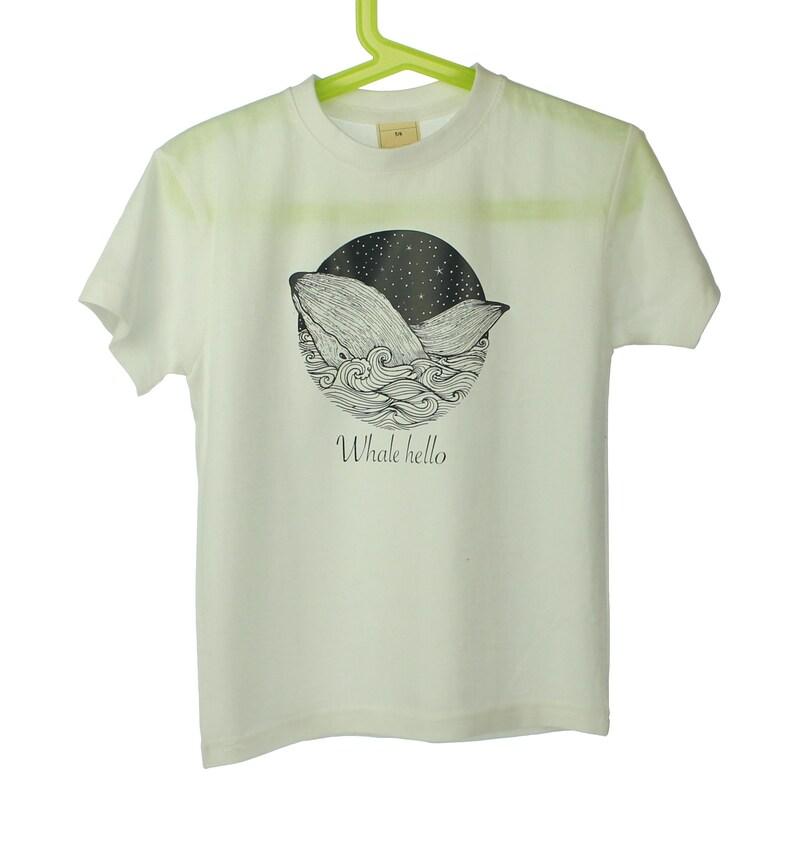 magasin en ligne aec27 64ed0 Baleine à bosse t shirt enfant top vêtements africain tshirt choisissez  votre message personnalisé texte sur tee-shirt enfant Chemise enfant  baleine ...